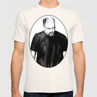 DARK COMEDIANS: Louis C.K. Mens Fitted Tee Natural SMALL