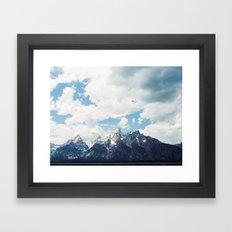 Grand Tetons Framed Art Print