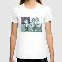 envy Womens Fitted Tee White SMALL