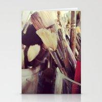Paintbrush Heaven Stationery Cards