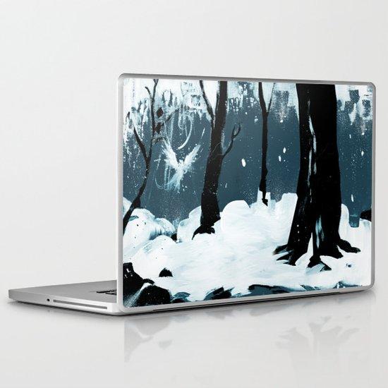Snow Bird Laptop & iPad Skin