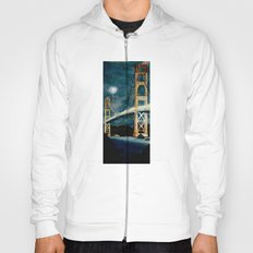 Golden Gate Bridge at Night Hoody