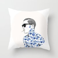 Inked #2 Throw Pillow