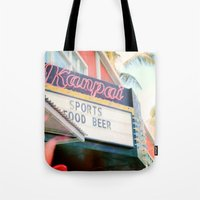 Tropical Kanpai Sports Bar Tote Bag