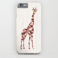 iPhone & iPod Case featuring Giraffe by basilique