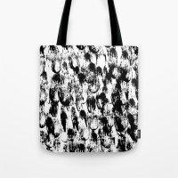 Black Pattern#3 Tote Bag