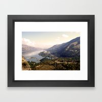 Distant Framed Art Print