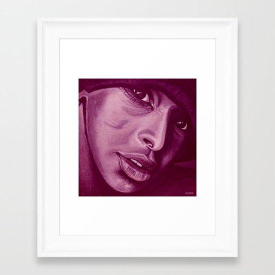 south america option two! Framed Art Print