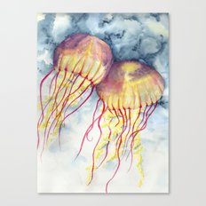 Shock Therapy/Jelly Fish Canvas Print