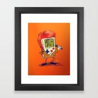 Game Bowie Framed Art Print