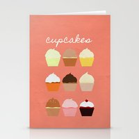 Baker's Joy Collection: Cupcakes Stationery Cards