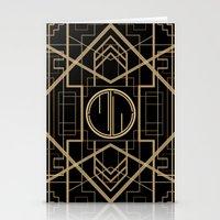 MJW- GREAT GATSBY STYLE Stationery Cards