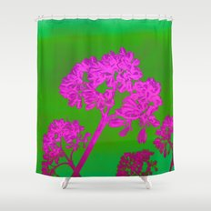 Funky Floral - JUSTART © Shower Curtain