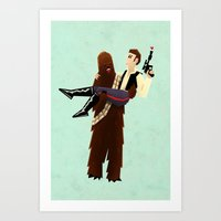 Wookielove Art Print
