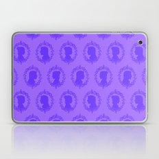 Star Wars Han and Leia in Purple Laptop & iPad Skin