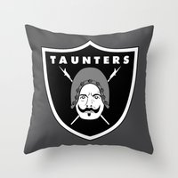 Taunters Throw Pillow