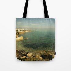 Hersonissos Cove Tote Bag