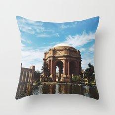 Palace of Fine Arts Throw Pillow