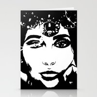 Queen Of Hearts - By Ash… Stationery Cards