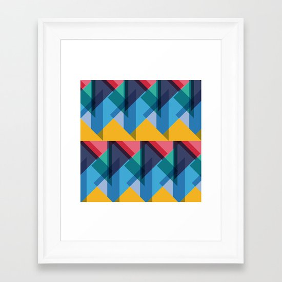 Crazy Abstract Stuff 2 Framed Art Print