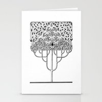 Tree Collection -3 Stationery Cards