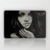 Charcoal experiment #5 Laptop & iPad Skin