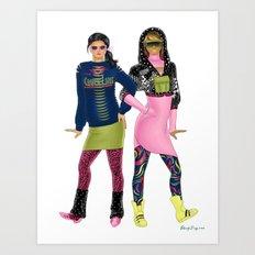 Fashion Journal: Day 23 Art Print