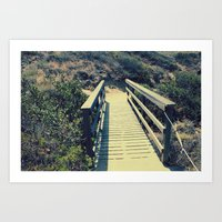Little bridge Art Print