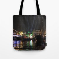 Marmaris Marina Nightsca… Tote Bag