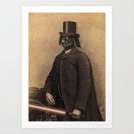 Lord Vadersworth Art Print