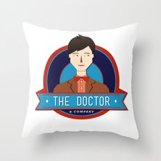 The Doctor & Company Throw Pillow