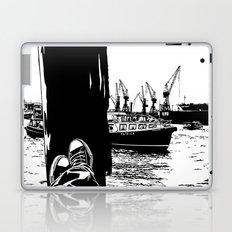 hamburg fischmarkt Laptop & iPad Skin