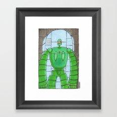 Groundskeeper Framed Art Print