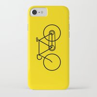 bicycle iPhone & iPod Cases featuring Bicycle by Luke Turner