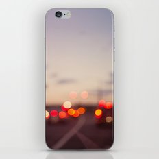 highway at dusk iPhone & iPod Skin