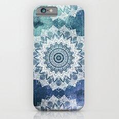 BOHOCHIC MANDALAS IN BLUE iPhone 6 Slim Case
