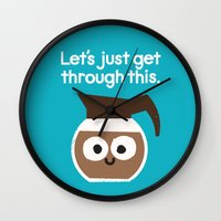 Grounds For Determination Wall Clock