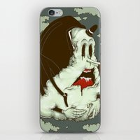 Creep Cloud Face Melt iPhone & iPod Skin