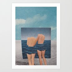 in one place Art Print