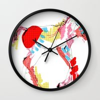 Baby horse colour Wall Clock
