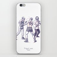 Freud, Jung, And Watts, … iPhone & iPod Skin