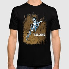 The Belchies Mens Fitted Tee Black SMALL