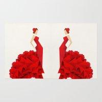 The Dancer (Flamenco) Rug