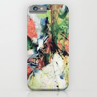 iPhone Cases featuring Paint Texture1 by RIZA PEKER