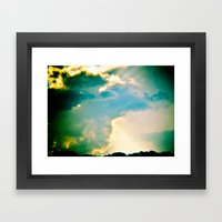 Double, Double, Toil And… Framed Art Print