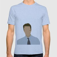Edward Norton Fight Club Mens Fitted Tee Athletic Blue SMALL