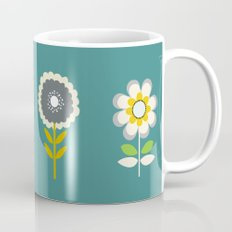70ies inspired flowers Mug
