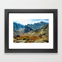 Chasm Lake Framed Art Print
