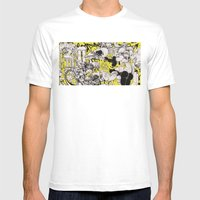 Confession Mens Fitted Tee White SMALL