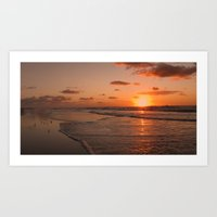 Wildwood Beach Sunrise I… Art Print